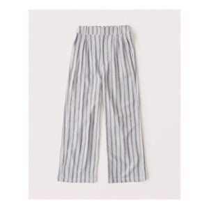 🆕Abercrombie Pants – Linen-Blend Pleated Wide Leg